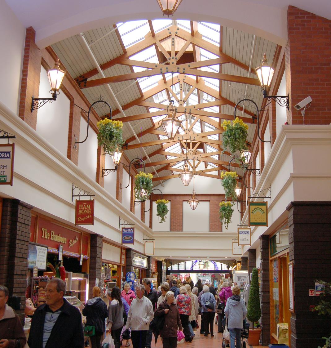 Victoria Shopping Centre Llandudno Car Park