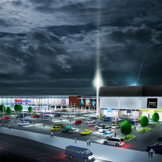 Retail & Leisure architects, Wisbech project