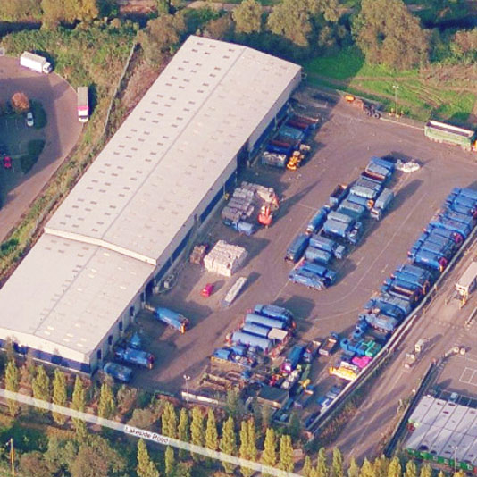 Waste Management Consultants, Colnbrook recycling project